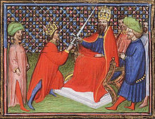 Edward III becomes Vicar to the Emperor Louis IV.